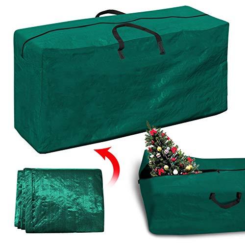 30 Rolling Duffle (BenefitUSA Künstlicher Weihnachtsbaum-Beutel zum Aufräumen von Weihnachtsbäumen, für bis zu 2,4 m / 2,7 m Baum-Aufbewahrung, 162,9 x 38,1 x 76,2 cm (L x B x H) für bis zu 22,9 cm, Grün)