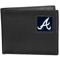 MLB Atlanta Braves Leather Bi-fold Wallet