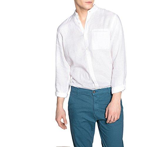 La redoute collections uomo camicia clement regular in lino collo alla coreana