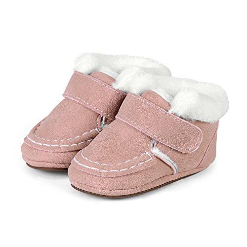 Sterntaler Baby Mädchen Krabbel-& Hausschuhe, Pink (Geranie 723), 21/22 EU