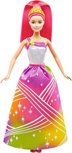Mattel Barbie DPP90 - Barbie Regenbogenlicht Prinzessin