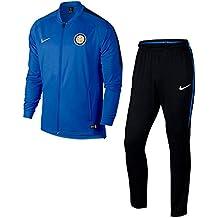 Tuta Panchina Blu Ufficiale Bambino F.C Inter 2017/2018 (L (12/13 ANNI))