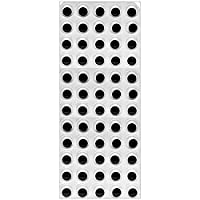 15mm Self Adhesive Wiggle Googly Sticky Eyes 60 on 1 Sheet Craft Eyes