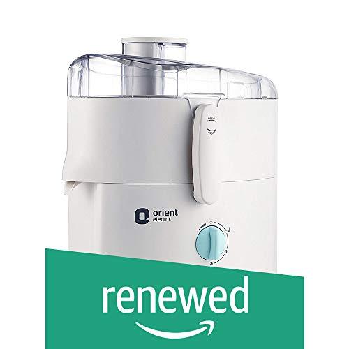 (Renewed) Orient Electric JMKK45B2 450-Watts Kitchen Kraft Juicer Mixer Grinder with 2 Jars (White)
