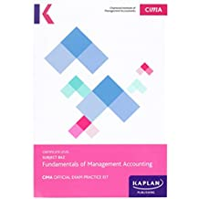 CIMA BA2 Fundamentals of Management Accounting - Exam Practice Kit