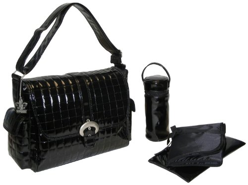 kalencom-monique-set-de-bolso-cambiador-estampado-color-negro
