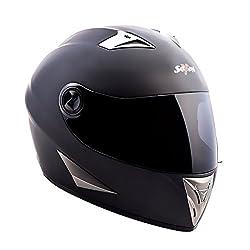 "Soxon® ST-550 ""Fighter"" · Integral-Helm · Full-Face Motorrad-Helm Roller-Helm Scooter-Helm Cruiser Sturz-Helm Street-Fighter-Helm Sport Urban Helmet · ECE Visier Schnellverschluss Tasche S (55-56cm)"