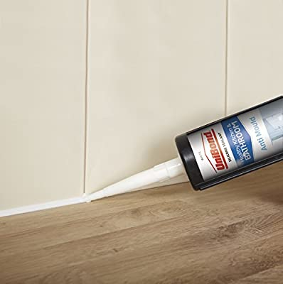 UniBond 2079321 Anti-Mould Kitchen and Bathroom Sealant Tube - White