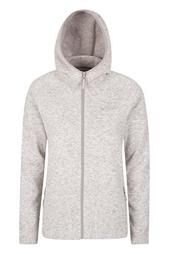 Mountain Warehouse Nevis Fleecejacke für Damen mit Reißverschluss - leichtes Sweatshirt für den Frühling, mit Taschen, atmungsaktiv - zum Spazierengehen, Wandern, Reisen