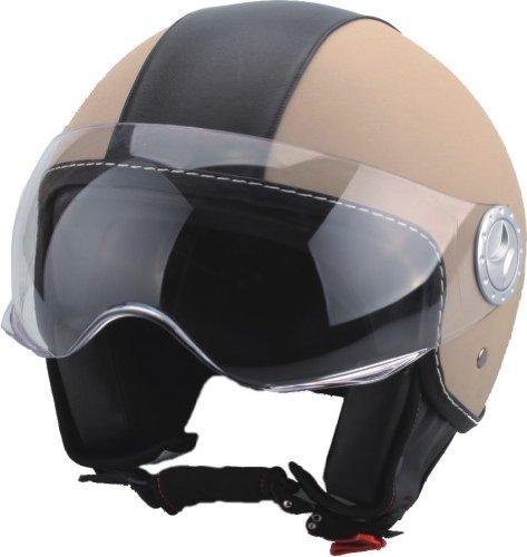 bhr-50180-demi-jet-casco-cuero-color-beige-talla-l-59-60-cm