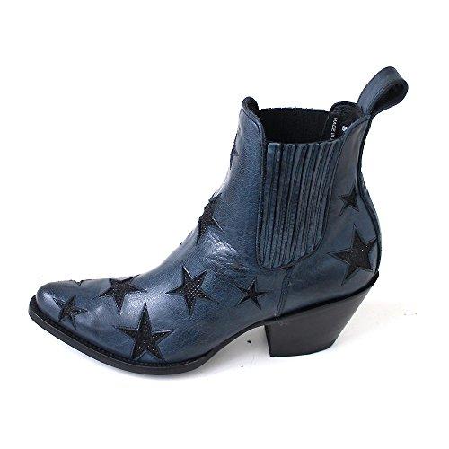 Mexicana , Bottes Chelsea femme Blau (blue black)