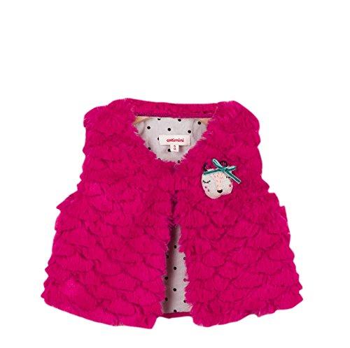 Catimini Catimini Baby-Mädchen Weste Gilet Sans Manches Pour, Pink (Fuchsia 35) 3-6 Monate (Herstellergröße: 6M)