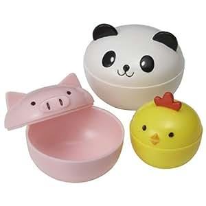 süße Panda Huhn Mini Soßen Behälter für Bento Box Lunch Box