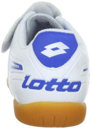 Lotto Sport STADIO POTEN.II 700 IDJRS Q1326, Scarpe da calcio ragazzo Bianco (Weiss (WHITE/BLUE))