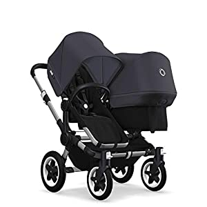 Bugaboo Donkey 2 Duo, 2 in 1 Pram and Double Pushchair for Baby and Toddler, Steel Blue   5