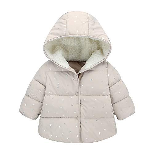 Hawkimin_Babybekleidung Hawkimin Kinder Baby Mädchen Jungen Winter Mit Kapuze Mantel Jacke Warme Oberbekleidung