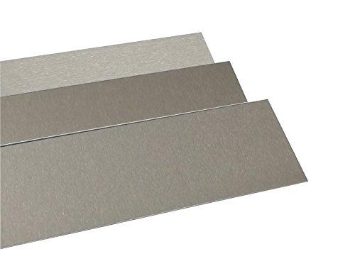 Chapa de acero inoxidable pulido K2402metros de largo 0,8mm de grosor placa...