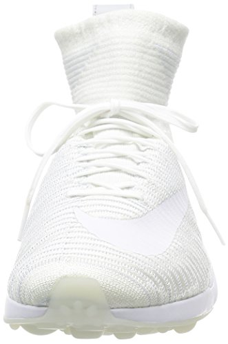 Nike Zoom Mercurial Xi Fk, Chaussures de Football Homme Blanco (White / White-Wolf Grey-Pure Platinum)
