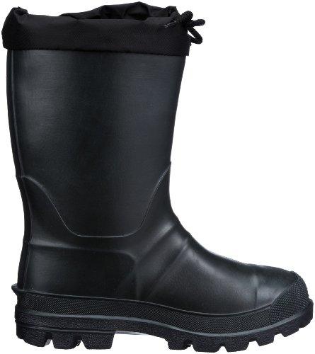 Kamik Hunter B24112, Bottes de pluie mixte enfant Noir-TR-H2-270