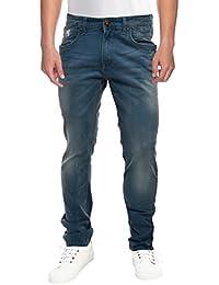Raa Jeans Men's Slim Fit Jeans Raa017 Blue