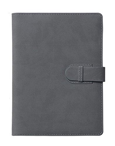 EVIICC B5 Geschäfts Notizblock | Die Mappe ist aus hochwertigem imitiertem Leder | Perforated 80...