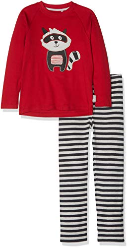 a, Mini Zweiteiliger Schlafanzug, Mehrfarbig (Chili Pepper 112), 104 ()