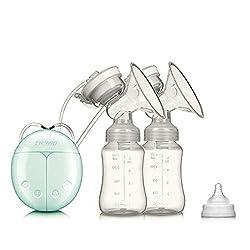 Elektrische Milchpumpe - SUMGOTT Dual Brustpumpe Stillen Automatische Massage