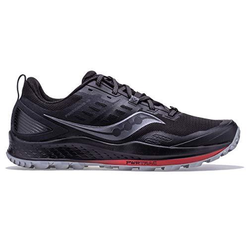 Saucony Peregrine 10 Zapatillas para Correr sobre Camino de Tierra o Montaña con Soporte Neutral para Hombre Negro 47 EU
