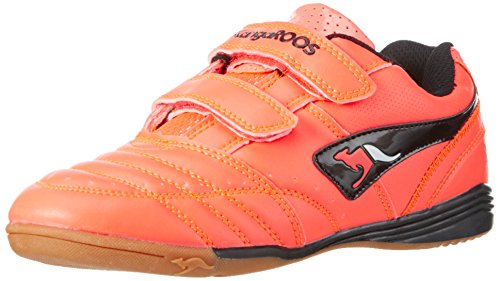 KangaROOS Mädchen Power Court Low-Top, Orange (Neon Salmon 678), 31 EU (Orange Kinder-schuhe)