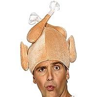 Sombrero de pavo Regalo de acción de gracias Sombrero de fiesta divertido Sombrero de pavo de acción de gracias, Sombrero de peluche Novedad Sombrero de pavo de Navidad para adultos Mujeres Hombres