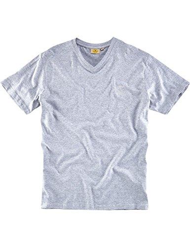 """ROADSIGN australia Basic T-Shirt """"Baseline-V"""" Graumelange"""
