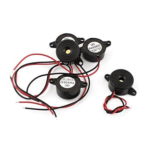 Amazon.co.uk - 5pcs 3-24V Piezo Electronic Buzzer Alarm