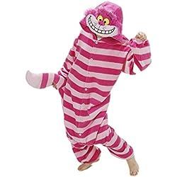 Kigurumi Pijamas Unisex Adulto Cosplay Adulto Animal Ropa de Dormir Halloween y Navidad