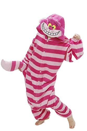 AGOLOD Overall Tier Cartoon Halloween Kostüme Pyjamas Cosplay Overall Erwachsene Unisex Onesie