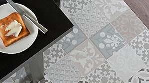 gerflor texline pvc vinyl bodenbelag 1955 provence creme linoleum rolle fu bodenbelag. Black Bedroom Furniture Sets. Home Design Ideas