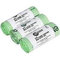All-Green - Bolsas biodegradables (10 L, 75 unidades)