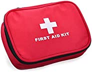 First Aid Kit Emergency Kit for Outdoor, Bag Pack, Home, Travel, Sport, Wilderness Survival (12 Items/22 pcs)