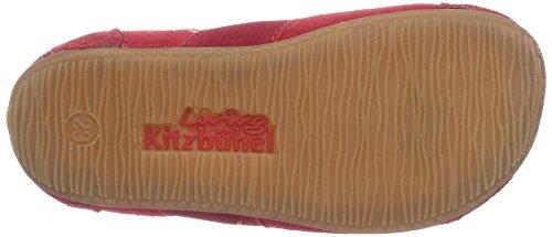 Living Kitzbühel T-Modell Streifen Mädchen Flache Hausschuhe Rot (rot 350)