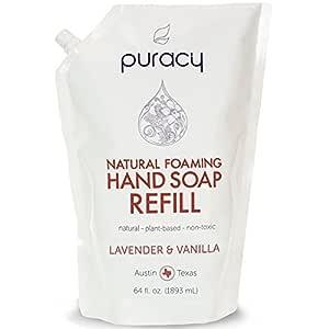 Buy Puracy Natural Foaming Hand Soap Refill Lavender