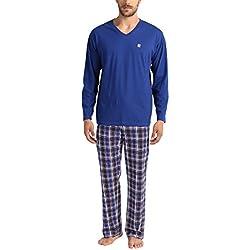 Lower East Le240 Pijama (Blau/weiß/Rot) Large