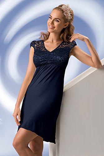 Donna - Chemise de nuit - Femme Bleu - Bleu