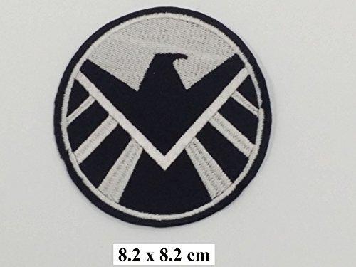 chulter-Patch, 2 Stück [3,5 Zoll] Uniform Kostüm Iron on Patch (Zwei Stück Superman Kostüm)