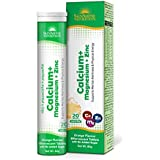 SUNSHINE NUTRITION Calcium Mag Zinc Effervescent, 20 Tablets