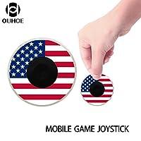 Tefamore Emoticon joystick para juegos móviles iPhone para el teléfono móvil de la pantalla táctil del iPad king glory