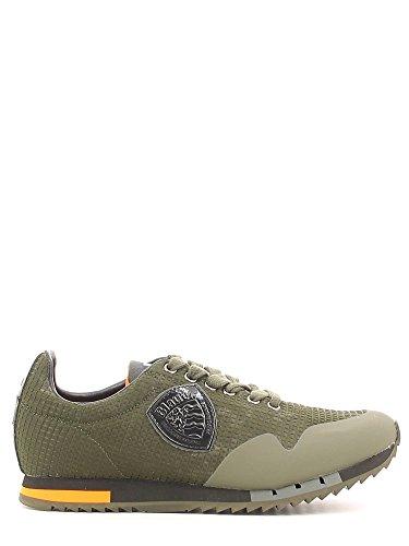 Blauer USA 6FNEWRUN|MES Sneakers Uomo Tessuto Verde Verde 40