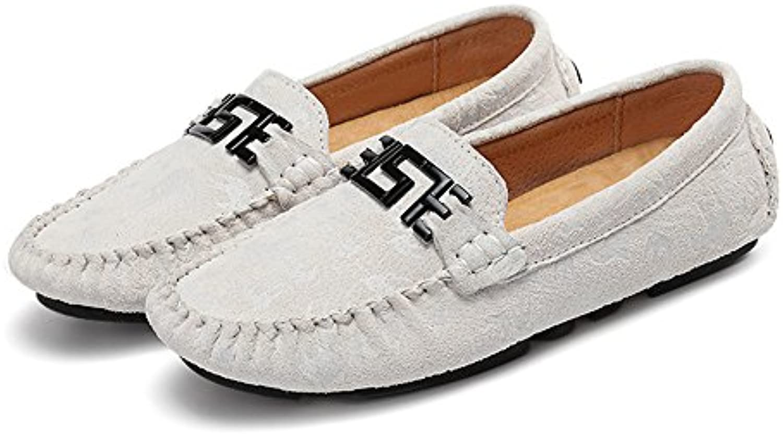 Shufang-shoes, Zapatos Mocasines para Hombre 2018 Los Hombres Ligeros de conducción Penny Holgazanes de impresión...