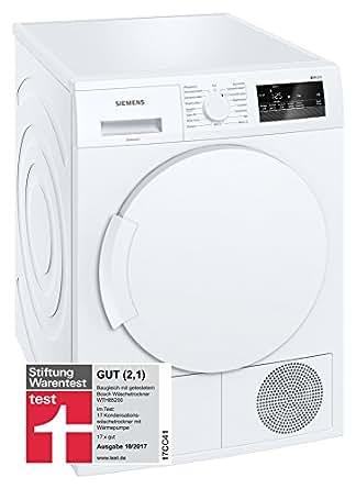 siemens wt45h200 7358901 a 7 kg condensateur filtre de protection blanc gros. Black Bedroom Furniture Sets. Home Design Ideas