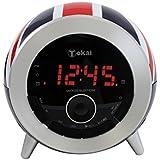 TOKAI - TC -138UJ Radio -Réveil - Drapeau - Tuner Digital avec Présélections - Multicolore