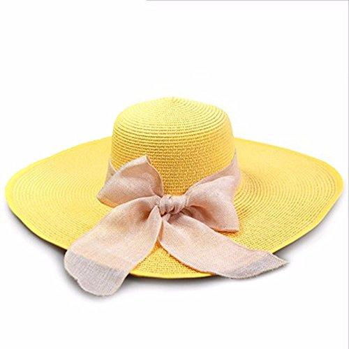 Westeng Sombrero de Paja para Niños Flores Bastante Sombrero al Aire Libre  Anti-UV size 50-52cm  (Azul marino ) Ideas de regalos de navidad 2018 d64079a699a