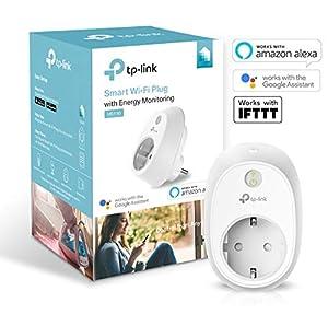 electrodomesticos por internet: TP-Link HS110 - Enchufe inteligente inalámbrico con monitorización de energía, c...